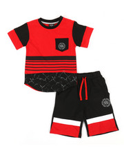 Enyce - 2pc Tee & Shorts Set (4-7)-2340443