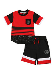 Enyce - 2pc Tee & Shorts Set (2T-4T)-2340421