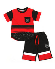 Enyce - 2pc Tee & Shorts Set (8-20)-2340468