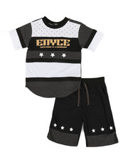 Enyce - 2pc Tee & Shorts Set (4-7)-2340551