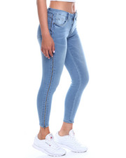 Women - Side Zip Stretch 5PKT Jean-2340394
