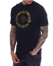 LRG - GOLD CYCLE FLOURISH TEE-2346224