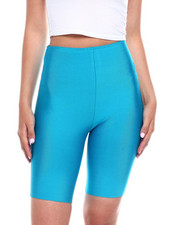 Wow Couture - Hi Waisted Bandage Bike Short-2345010