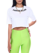 Graphix Gallery - Fashion Killer S/S Crop Tee-2346418