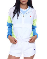 Women - Nylon Warm Up Jacket-2346534