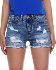 Bottoms - Destructed Hi Rise Short-2346410