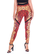 Women - Multi Print High Waist Bandage Legging-2345042