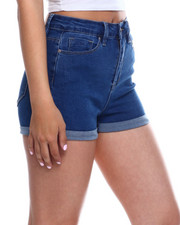 Women - No Muffin Hi Rise Roll Cuff Short-2344196