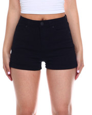 Bottoms - No Muffin Hi Rise Roll Cuff Short-2344221