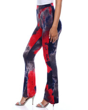 Fashion Lab - Tie Dye Flare Legging-2346488