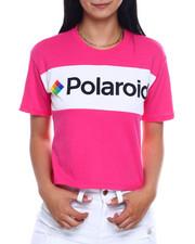 Spring-Summer-W - SS Polaroid Color Block Crop Tee-2346405