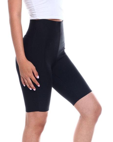 Wow Couture - Hi Waisted Bandage Bike Short