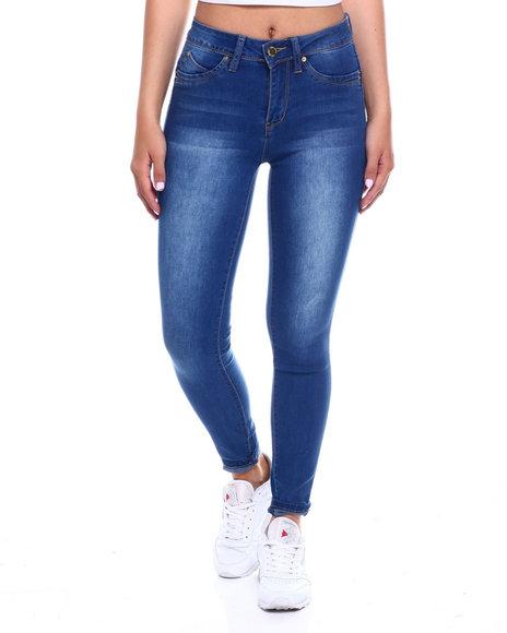 YMI Jeans - Hi Rise 5 Pocket Skinny Jean