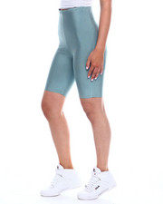 Wow Couture - Hi Waisted Bandage Bike Short-2345028