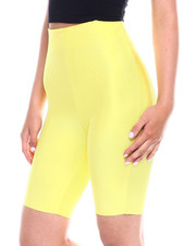 Wow Couture - Hi Waisted Bandage Bike Short-2344996