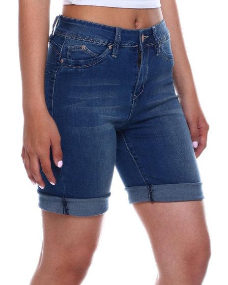 YMI Jeans - Hi Rise Denim Bermuda