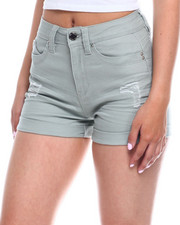 Bottoms - Betta Butt Roll Cuff Short-2346458