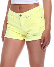Shorts - Mid Rise Destructed Short-2346475