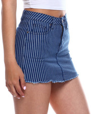 Bottoms - 5 Pocket Denim Skort-2343958