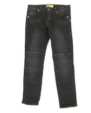 Bottoms - Ribbed Moto Stretch Jeans (8-20)-2337330