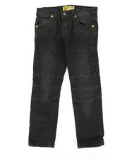 Bottoms - Ribbed Moto Stretch Jeans (4-7)-2337325