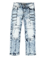 Jeans - Ribbed Moto Stretch Jeans (4-7)-2337264