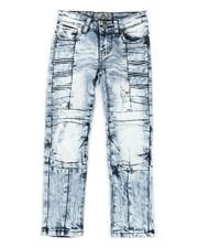 Boys - Ribbed Moto Stretch Jeans (4-7)-2337264