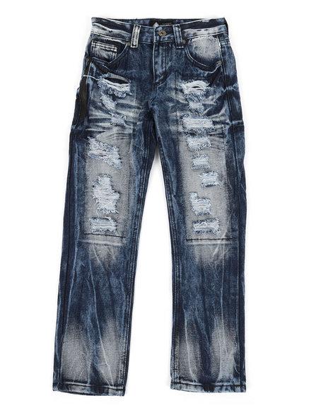 Arcade Styles - Waterproof Zip Trim Jeans (8-20)