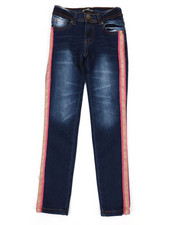 Girls - Jeans W/ Side Taping (7-16)-2342601