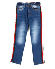 Bottoms - Jeans W/ Side Taping (4-6X)-2342643