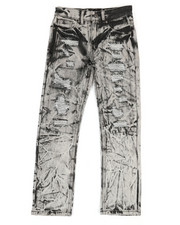 Sizes 8-20 - Big Kids - Waterproof Zip Trim Jeans (8-20)-2342052