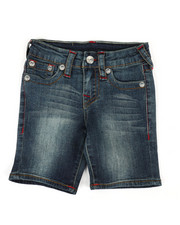 True Religion - Slim Single End Shorts (2T-4T)-2337344
