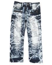 Boys - Waterproof Zip Trim Jeans (4-7)-2342035