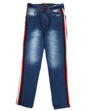 Girls - Jeans W/ Side Taping (7-16)-2342648