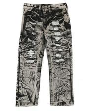 Boys - Waterproof Zip Trim Jeans (4-7)-2342047