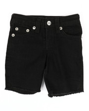 True Religion - Slim Single End Shorts (2T-4T)-2337336