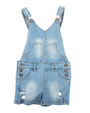 Overalls & Jumpers - Shortalls W/ Pockets (4-6X)-2342316