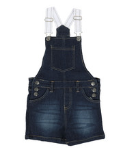 Overalls & Jumpers - Shortalls W/ Pockets (7-16)-2342337