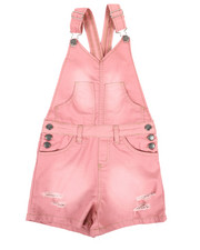 Overalls & Jumpers - Shortalls W/ Pockets (7-16)-2342159