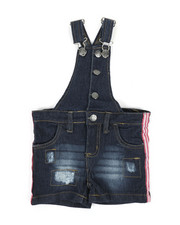 Overalls & Jumpers - Shortalls W/ Stripes (2T-4T)-2342390