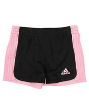 Girls - Three Striped Blocked Shorts (2T-6X)-2342111