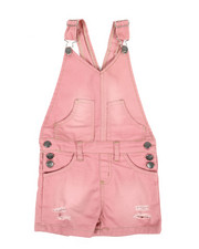 Overalls & Jumpers - Shortalls W/ Pockets (4-6X)-2342178