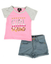 Dollhouse - 2 Pc Tee & Shorts Set (2T-4T)-2342720