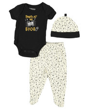 Duck Duck Goose - 3 Piece Slogan Knit Set (Infant)-2339434
