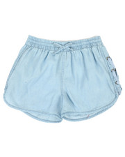Bottoms - Lace-Up Detail Shorts (7-16)-2342446