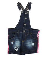 Overalls & Jumpers - Shortalls W/ Stripes (4-6X)-2342360