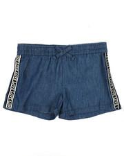 Bottoms - Shorts W/ Logo Taping (4-6X)-2342532