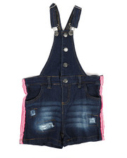 Overalls & Jumpers - Shortalls W/ Stripes (7-16)-2342383