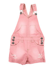 Overalls & Jumpers - Shortalls W/ Pockets (2T-4T)-2342183