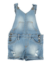 Overalls & Jumpers - Shortalls W/ Pockets (2T-4T)-2342312
